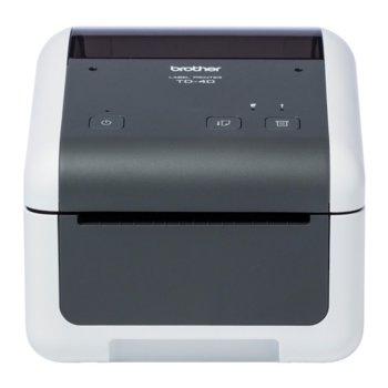 Етикетен принтер Brother TD-4410D, Резолюция (203 x 203), 64MB Flash, 256MB SDRAM, USB 2.0 image