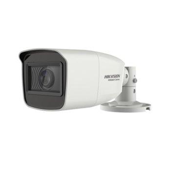 "HDCVI камера HikVision HWT-B323-Z, насочена ""bullet"" камера, 2MPix(1920x1080@25fps), 2.7~13.5 mm, IR осветеност (до 70 m), външна IP66 image"