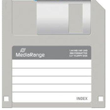 Дискета MediaRange MF-2HD, 1.4MB, 10бр. image