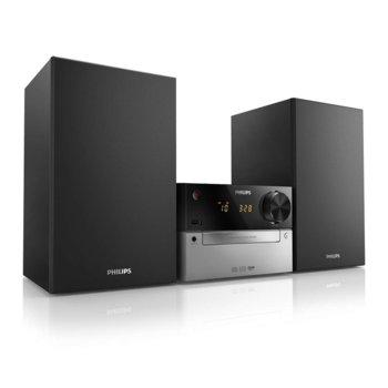 Мини аудио система Philips MCM2300, 15W (RMS), CD, MP3, USB, FM USB image