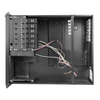 """Кутия Lanberg SC01-5504-08B, 4U rack-mount, 19"""", без захранване image"""