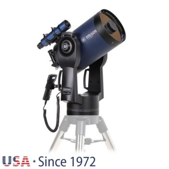 Телескоп Meade LX90 8 f/10 ACF без триножник, 8x50 mm с решетка с кръстче оптично увеличение, 203mm диаметър на лещата, 2000mm фокусно разстояние image