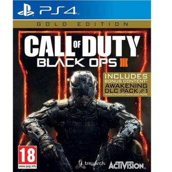Игра за конзола Call of Duty: Black Ops III - Gold Edition, за PS4 image