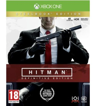 Hitman Definitive Steelbook Edition product