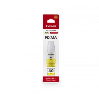 Глава за Canon PIXMA G6040, G5040, GM2040 , GI-40, 6000к, Yellow image