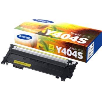 Касета за Samsung CLT-Y404S - SU444A - Yellow - заб.: 1 000k image