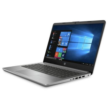 "Лаптоп HP 340S G7 (9TX21EA)(сребрист), четириядрен Ice Lake Intel Core i5-1035G1 1.0/3.6 GHz, 14"" (35.56 cm) Full HD IPS Anti-Glare Display, (HDMI), 8GB DDR4, 256GB SSD, 1x USB 3.1 Type-C, Free DOS  image"