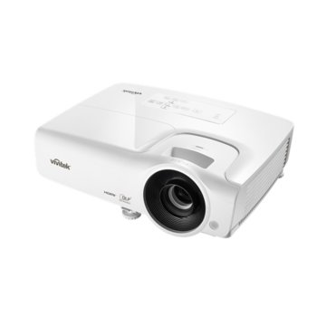 Проектор Vivitek DX263, DLP, 3D Ready, XGA (1024x768), 15000:1, 3500 lm, 2x HDMI, 2x VGA, USB, бял image