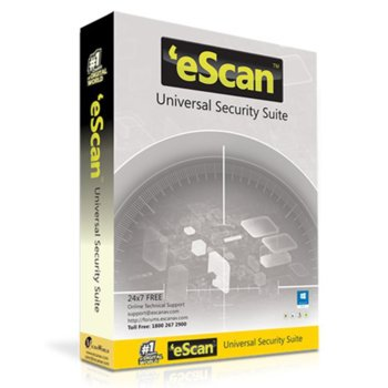 eScan Universal Security Suite 4 devices/1year product