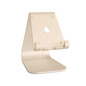 Стойка за таблет/телефон Rain Design mStand mobile, 81 х 111 х 124мм, златиста image