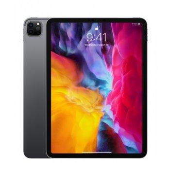 """Таблет Apple iPad Pro (2nd Generation)(MXDE2HC/A)(сив), 11"""" (27.94 cm) Liquid Retina дисплей, осемядрен Apple A12Z Bionic, 6GB RAM, 512GB Flash памет, 12.0 + 10.0 MPix & 7.0 MPix камера, iPad OS, 473g image"""