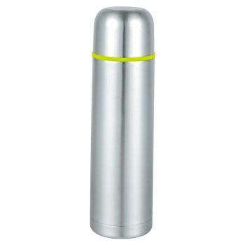Термос SAPIR SP 2010 B, 0.750mL, включена чантичка, запушалка, поддържа топлината до 7 часа, сребрист image