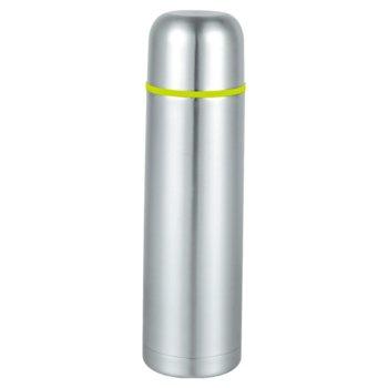 Термос SAPIR SP 2010 B, 750mL, включена чантичка, запушалка, поддържа топлината до 7 часа, сребрист image