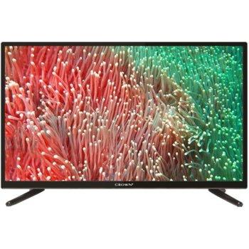 "Телевизор Crown 32D19AWS, 32"" (81 sm), 1366x768 HD Ready Smart TV, DVB-T/C/S, 3x HDMI, 2x USB, WiFi image"