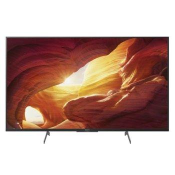 """Телевизор Sony KD-49XH8596, 49"""" (124.46 cm) 4K/UHD Smart TV, HDR, DVB-C/DVB-T/T2/DVB-S/S2, Wi-Fi, LAN, Bluetooth, 4x HDMI, 3x USB, енергиен клас G image"""