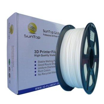 Консуматив за 3D принтер, PLA, 1.75mm, бял, 1kg image