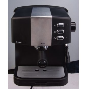 Автоматична еспресо кафемашина Electra ECM-1313 Bella, 850W, 15 bar, 1.5 литра, черна image