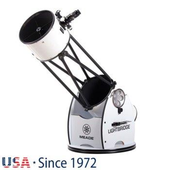 Телескоп Meade LightBridge 12 F/5, добсънов, 600x mm оптично увеличение, 304mm диаметър на лещата, 1524mm фокусно разстояние image
