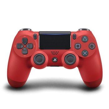 Геймпад PlayStation DualShock 4 V2 - Magma Red, безжичен, за PS4, червен image