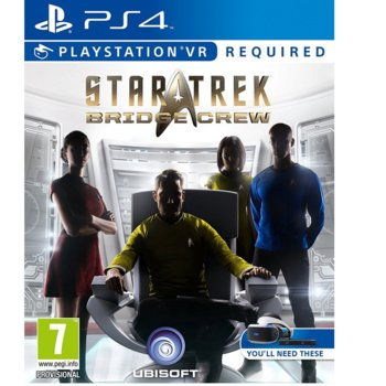 Игра за конзола Star Trek: Bridge Crew VR, за PS4 image