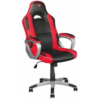 Геймърски стол Trust GXT 705 Ryon, черно/червен image