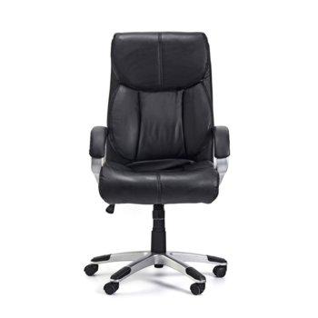 Директорски стол Midas, екокожа, черен image
