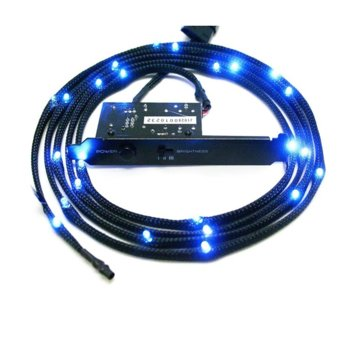 Led лента NZXT Sleeved LED Kit 1m Blue, 1.0 m image