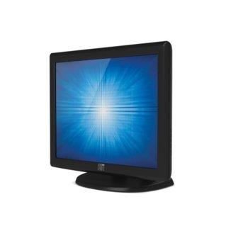 """Публичен дисплей ELO E603162 ET1715L-7CWB-1-GY-G, 17""""(43.18 cm) TN тъч панел, SXGA, VGA image"""