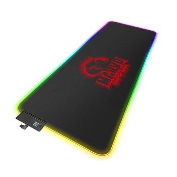 Подложка за мишка Marvo Pro Gaming Mousepad G45 - Size-XL, гейминг, черна, 800 x 305 x 4 mm, RGB image