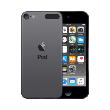 "MP4 плейър Apple iPod Touch (черен), 4.0""(10.16 cm) сензорен IPS Retina дисплей, A10 Fusion чип, 32GB Flash памет, 8Mpix & Facetime HD 1.2Mpix camera, Wi-Fi, Bluetooth 4.1, iOS 12 image"