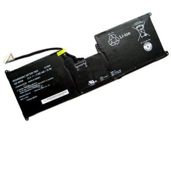 Батерия (оригинална) за лаптоп Sony, съвместима с VAIO SVT11213CXB/SVT11215CGB/W/SVT1121B4E/SVT11224E/SVT1122C5E/SVT112A2WL/Tap 11 Tablet/SVT-1121G4E/B/SVT11213CGW/SVT11219SCW/SVT11223CGW/SVT11227CG, 7.5V, 3800mAh image
