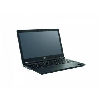 """Лаптоп Fujitsu LIFEBOOK E5510 (S26391-K500-V100_256_I7_N), четириядрен Comet Lake Intel i7-10510U 1.8/4.9 GHz, 15.6"""" (39.62 cm) Full HD LED IPS Display, (HDMI), 8GB DDR4, 256GB SSD, 1x USB 3.2 Type C, No OS  image"""