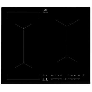 Керамичен плот за вграждане Electrolux EIV634, 4 бр. нагревателни зони, разпознаване на съдовете, CleverHeat, черен image