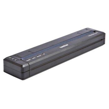 Термопечатащ мобилен принтер Brother PJ-762, монохромен, 203x200dpi, 8 стр/мин, Bluetooth, USB 2.0 Mini Type B, A4 image