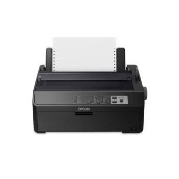 Матричен принтер Epson FX-890II C11CF37401, 240 x 144dpi, 9pin/80 колони, USB image