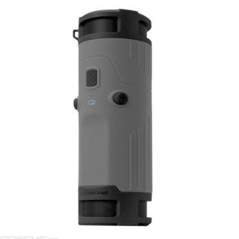 Тонколона Scosche BoomBOTTLE, 2.0, 6W (3W + 3W), Bluetooth 4.0, 3.5mm жак, сива, IPX4 защита, 10 часа време за работа image