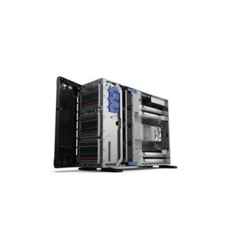 Сървър HPE ML350 G10 (PERFML350-010), осемядрен Skylake Intel Xeon 4110 2.1/3.0 GHz, 32GB RDIMM DDR4, без твърд диск, 4x 1GbE, No OS, 2x 800W image