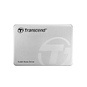"""Памет SSD 240GB Transcend, SSD220S, SATA 6Gb/s, 2.5""""(6.35 cm), скорост на четене 550MB/s, скорост на запис 450MB/s image"""