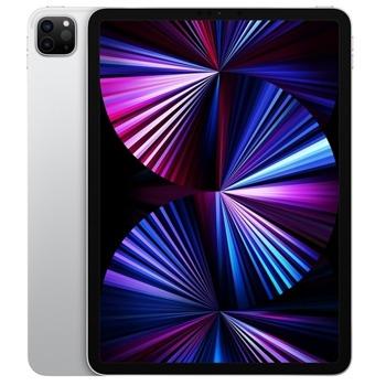 """Таблет Apple iPad Pro Wi-Fi (MHNG3HC/A)(сребрист), 12.9"""" (32.76 cm) Liquid Retina дисплей, осемядрен Apple A12Z Bionic, 8GB RAM, 128GB Flash памет, 12.0 + 10.0 MPix & 12.0 MPix камера, iPad OS, 682g image"""
