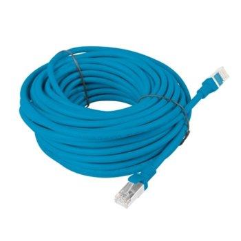 Пач кабел Lanberg PCF5-10CC-1500-B, FTP, cat.5e, 15м, син image