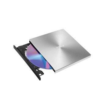 Оптично устройство Asus ZenDrive U9M Ultra-slim, външен, USB Type C, USB, сребрист image