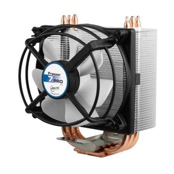 Охлаждане за процесор Arctic Freezer 7 PRO Rev.2, съвместим с LGA 1366/1150/1151/1155/1156/775 & AMD FM2(+)/FM1/AM3(+)/AM2(+)/939/754 image