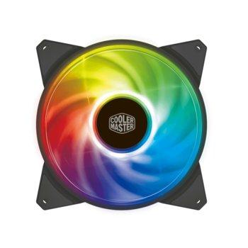 Вентилатор 140mm CoolerMaster MasterFan MF140R ARGB, 4-Pin, 1500rpm image