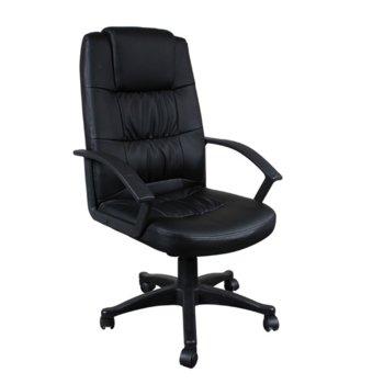 Директорски стол Carmen 6078, черен image