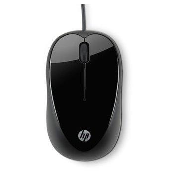Мишка HP X1000 (Brasilia), оптична (1000dpi), USB image