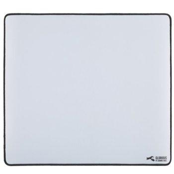 Подложка за мишка Glorious - XL Heavy, гейминг, бяла, 460 x 410 x 5mm image