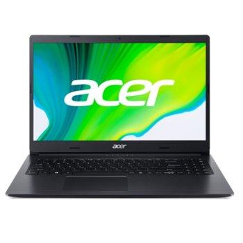"""Лаптоп Acer Aspire 3 A315-23-R6UH (NX.HVTEX.00Y), двуядрен AMD Ryzen 3 3250U 2.6/3.5GHz, 15.6"""" (39.62 cm) Full HD Anti-Glare Display, (HDMI), 4GB DDR4, 256GB SSD, 1x USB 3.1, No OS  image"""