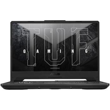"Лаптоп Asus TUF F15 FX506HE-HN011, шестядрен Tiger Lake Intel Core i5-11400H 2.7/4.5 GHz, 15.6"" (39.62 cm) Full HD IPS 144Hz Anti-Glare Display & GF RTX 3050 Ti 4GB, (HDMI), 8GB DDR4, 512GB SSD, 1x Thunderbolt 4, Free DOS image"