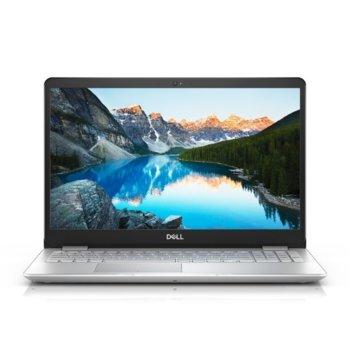 "Лаптоп Dell Inspiron 5584 (5397184273838)(сребрист), двуядрен Whiskey Lake Intel Core i3-8145U 2.1/3.9 GHz, 15.6"" (39.62 cm) Full HD Anti-Glare Display, (HDMI), 4GB DDR4, 256GB SSD, 1x USB 3.1 Type C, Linux, 2.05 kg  image"