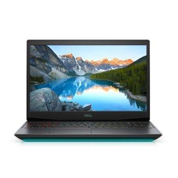 "Лаптоп Dell G5 15 5500 (5397184444047), шестядрен Comet Lake Intel Core i7-10750H 2.6/5.0 GHz, 15.6"" (39.62 cm) Full HD WVA 144Hz Display & GTX 1660 Ti 6GB, (mDP), 8GB DDR4, 512GB SSD, 1x Thunderbolt 3, Windows 10 Home image"